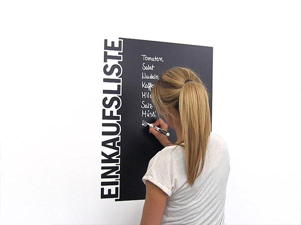 Ideen Mit Tafelfolie Die Tafel Zum Aufkleben