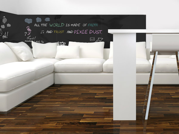ideen mit tafelfolie die tafel zum aufkleben. Black Bedroom Furniture Sets. Home Design Ideas