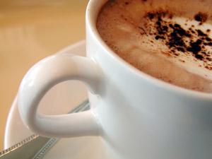 Tasse Kaffee für gute Laune