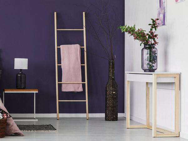Violette Wande Und Dekoration Ideen Tipps Von Wandtattoo De