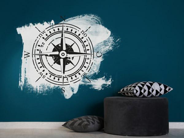 Grunge Wände - Wanddesign mit unsauberen Kanten