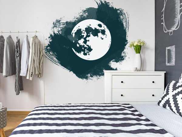 grunge w nde wanddesign mit unsauberen kanten. Black Bedroom Furniture Sets. Home Design Ideas