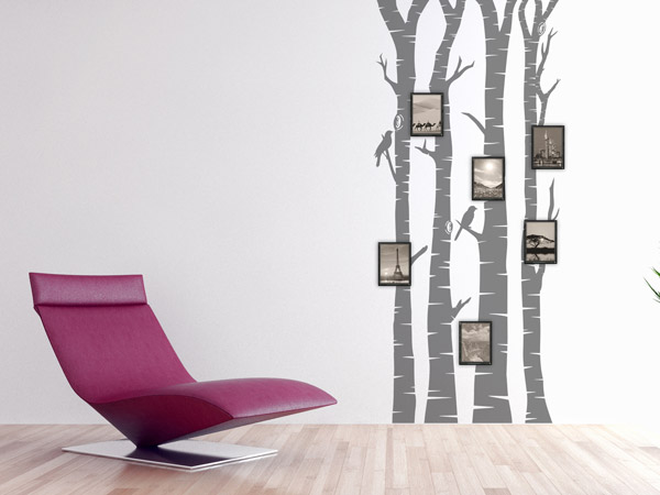 Wandtattoos mit bilderrahmen kombiniert neue wandideen - Wandtattoo bilderrahmen ...