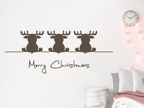 Wandtattoos als weihnachtsdeko w nde und fenster for Weihnachtsdeko kinderzimmer