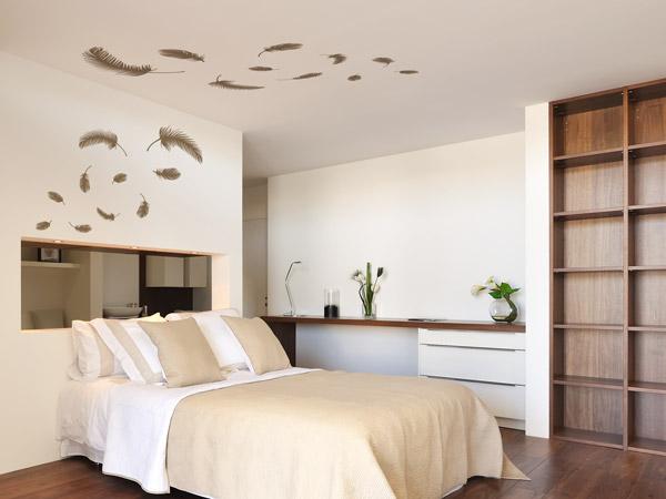 Deckentattoos - Ideen für Wandtattoos an der Decke