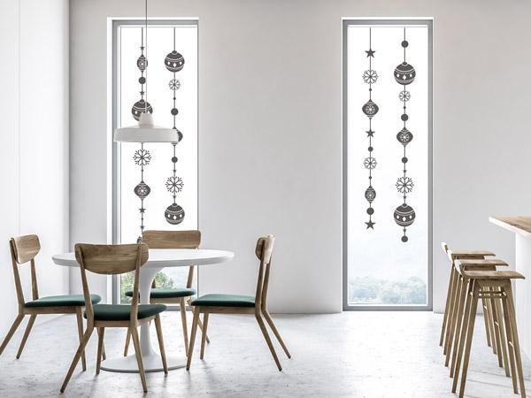 Wandtattoos Als Selbstklebende Fensterbilder Zu Weihnachten