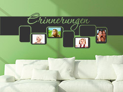 wandtattoo als fotorahmen anleitung zum anbringen. Black Bedroom Furniture Sets. Home Design Ideas