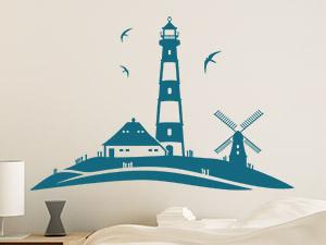 Wandtattoos mit thema ideen f r die themendekoration - Maritime wandtattoos ...