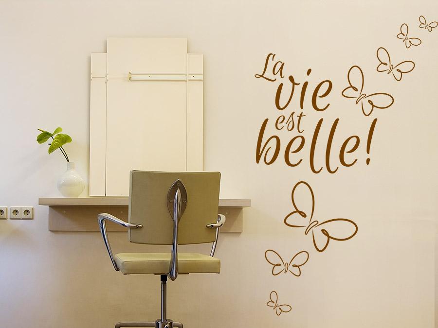 Wandtattoo im Friseur Salon - Ideen für die Gestaltung