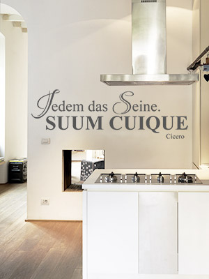 lateinische sprichw rter jedem das seine mut zitate weisheiten. Black Bedroom Furniture Sets. Home Design Ideas