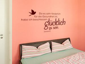 Wandtattoos In Der Mietwohnung - Ratgeber Von Wandtattoo.de Schlafzimmer Gestalten Wnde