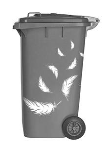 Wandtattoo Auf Der Mülltonne