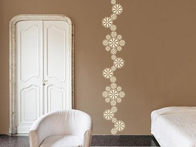 Wandtattoos als muster ideen f r kreative wandmuster - Muster an wand ...