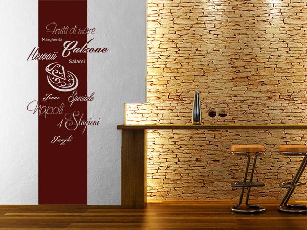 wandtattoo im restaurant ansprechende ideen und tipps. Black Bedroom Furniture Sets. Home Design Ideas