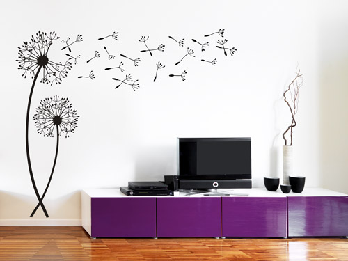 wandtattoo im m belhaus deko ideen f r showrooms. Black Bedroom Furniture Sets. Home Design Ideas