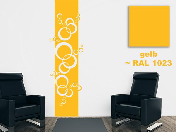 Wandtattoo Farben & RAL Farben - Diese Farben gibt es