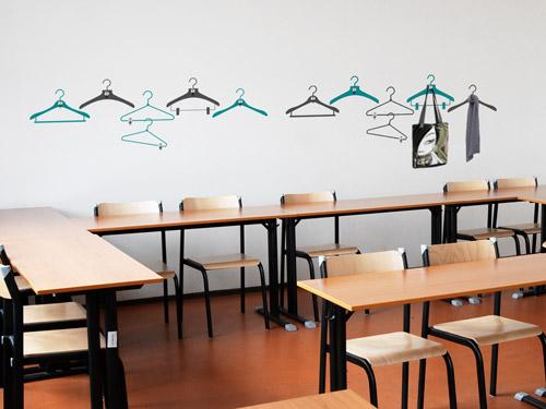 Wandtattoo f r schule und klassenraum kreative ideen - Fensterdeko klassenzimmer ...