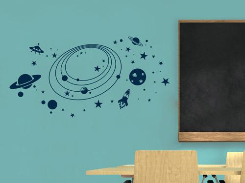 wandtattoo f r schule und klassenraum kreative ideen. Black Bedroom Furniture Sets. Home Design Ideas