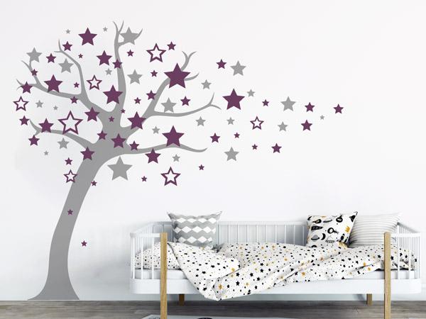 Wandtattoo Sternenbaum Im Kinderzimmer
