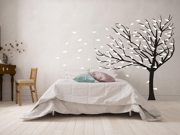 wandtattoo baum bunte ideen f r die wand. Black Bedroom Furniture Sets. Home Design Ideas