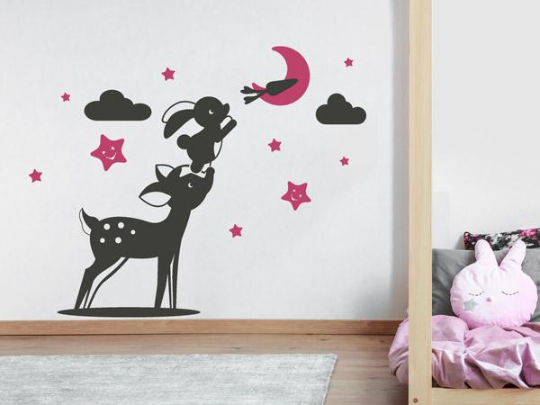 kinderzimmer mit s en tieren dekorieren wandtattoo ideen. Black Bedroom Furniture Sets. Home Design Ideas