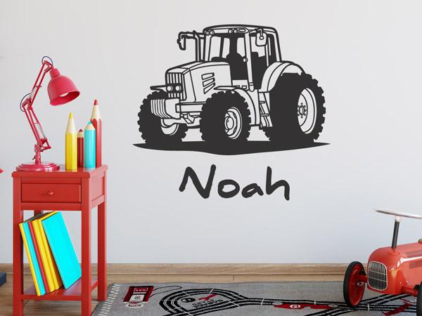 traktor wandtattoo kinderzimmer wohnen mit kindern ideen f rs kinderzimmer von