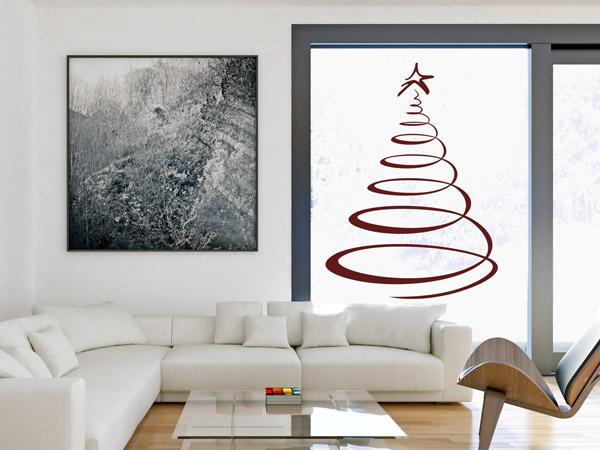 Wandtattoos als weihnachtsdeko w nde und fenster for Wandtattoo fenster