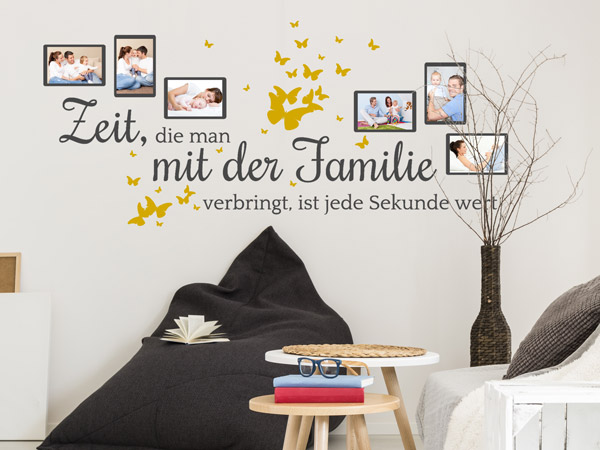 wandtattoos f r coole familien familienspr che und motive. Black Bedroom Furniture Sets. Home Design Ideas