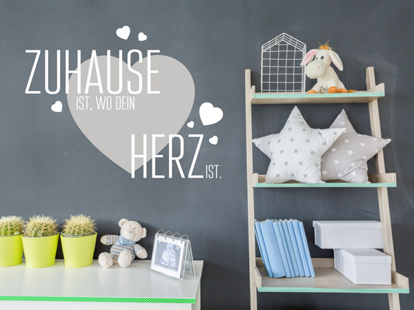 wandtattoo spr che zur wandgestaltung wandtattoo de. Black Bedroom Furniture Sets. Home Design Ideas