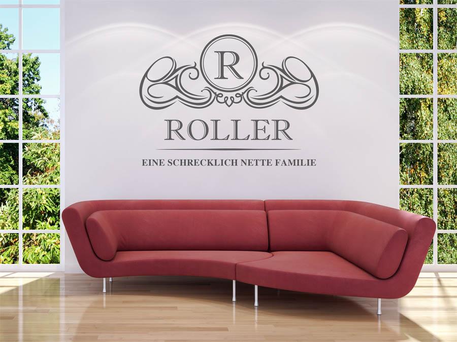 Wandtattoo kuche roller for Wandbilder kuche gunstig