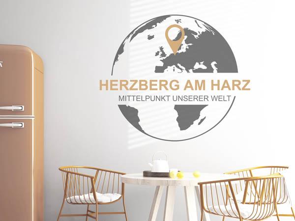 Wandtattoo Herzberg am Harz Wandgestaltung für Herzberger