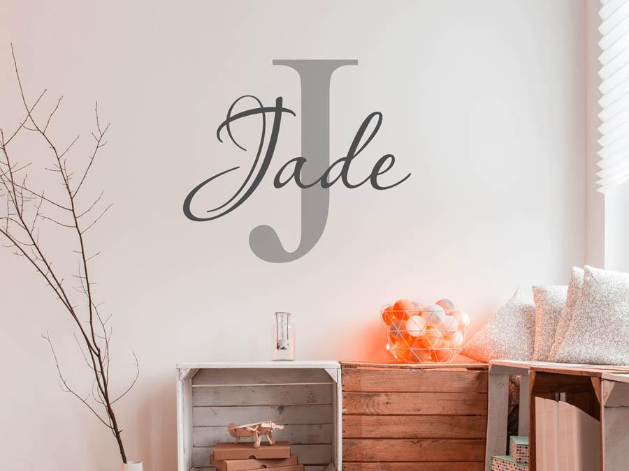 Wandtattoo Jade